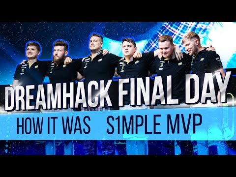 DreamHack final day: how it was. S1mple MVP