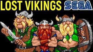 СЕГА ПОТЕРЯННЫЕ ВИКИНГИ - The Lost Vikings Sega Longplay Прохождение