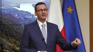 Konferencja premiera Mateusza Morawieckiego po Radzie Europejskiej.
