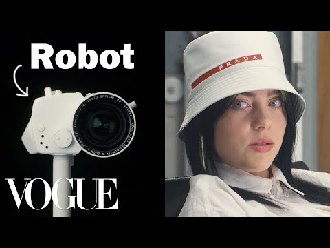Billie Eilish Gets Interviewed By a Robot | Vogue