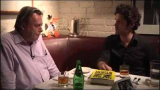 Drinks with Christopher Hitchens