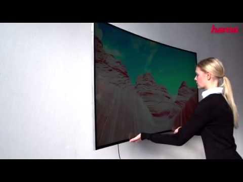 Hama Fullmotion Curved TV Wall Bracket