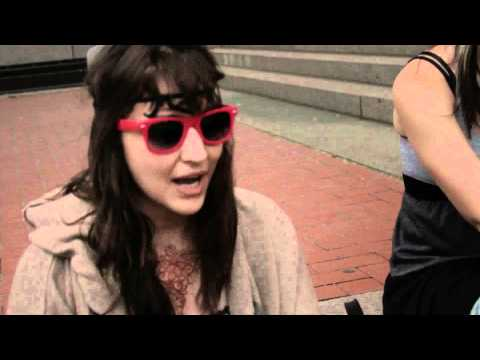 Occupy Wall Street Protest - MN - Protest Guy Fawks Girls - Dad lost his job and has diabetes