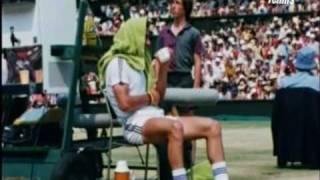 Bjorn Borg  Ilie Nastase Wimbledon 1976 Final