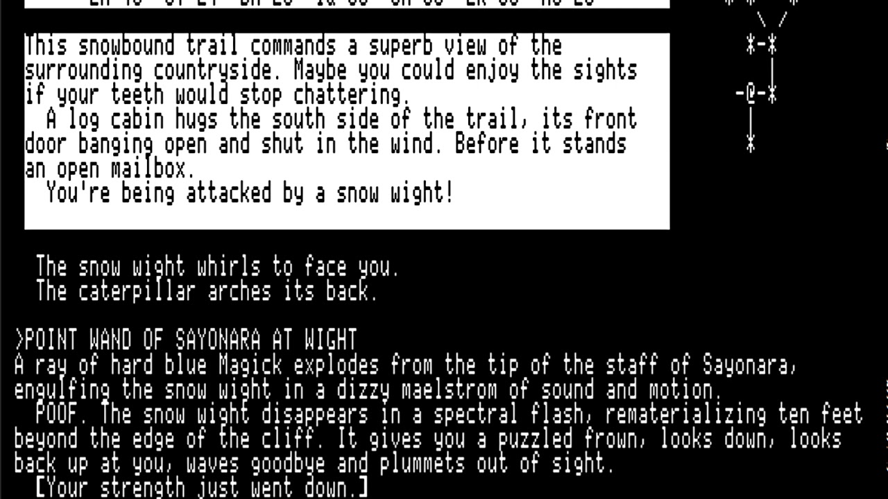 Beyond Zork - Saying Sayonara to Snow Wight