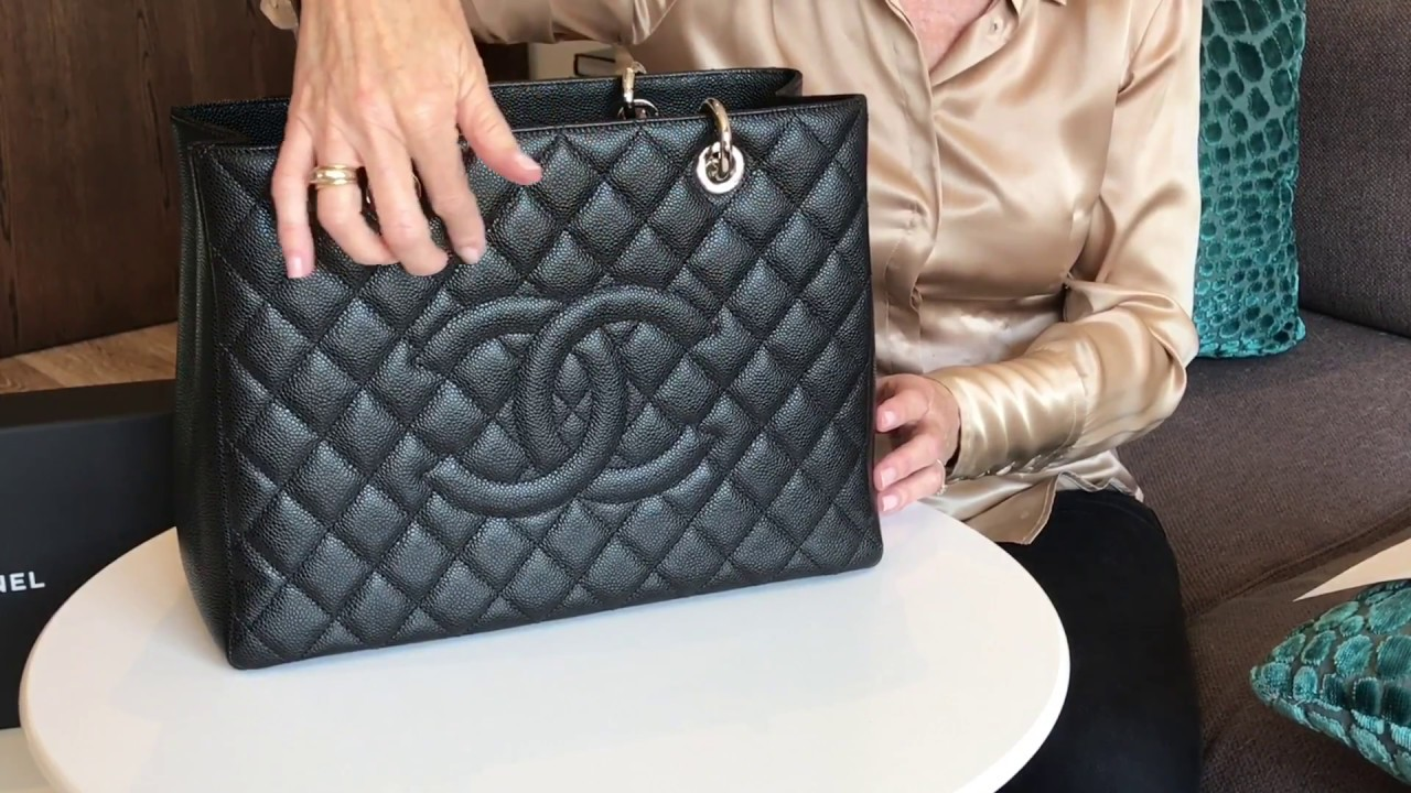 126880d2966a Chanel Grand Shopping Tote - Bag Review - YouTube