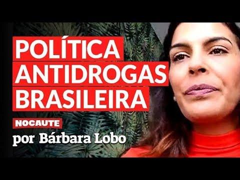 A JURISTA BRASILEIRA, BÁRBARA LOBO, ESTREIA NO NOCAUTE. FALANDO DE MACONHA.