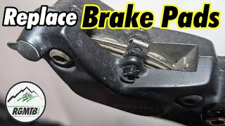 How to Replace Disc Brake Pads on your Mountain Bike