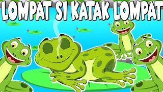 LOMPAT SI KATAK LOMPAT & ANAK ITIK TOK WI | Lagu Kanak Kanak Melayu Malaysia