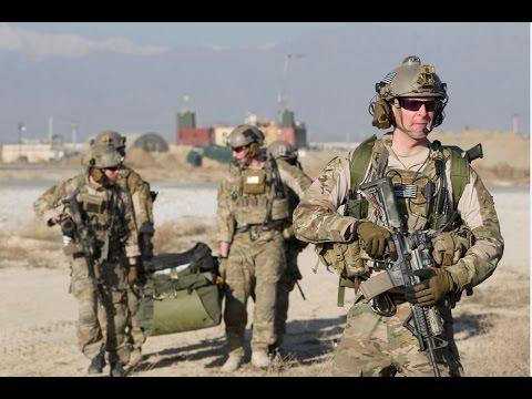 USAF Pararescuemen in Afghanistan 2016