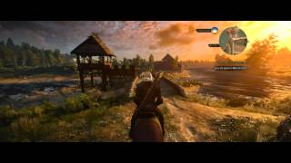 The Witcher 3 Ultra Settings, Acer Predator G6 PC, 3440x1440 Resolution, Recorded in 4K Monitor