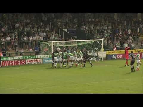 Highlights | Yeovil Town 1-1 Colchester United
