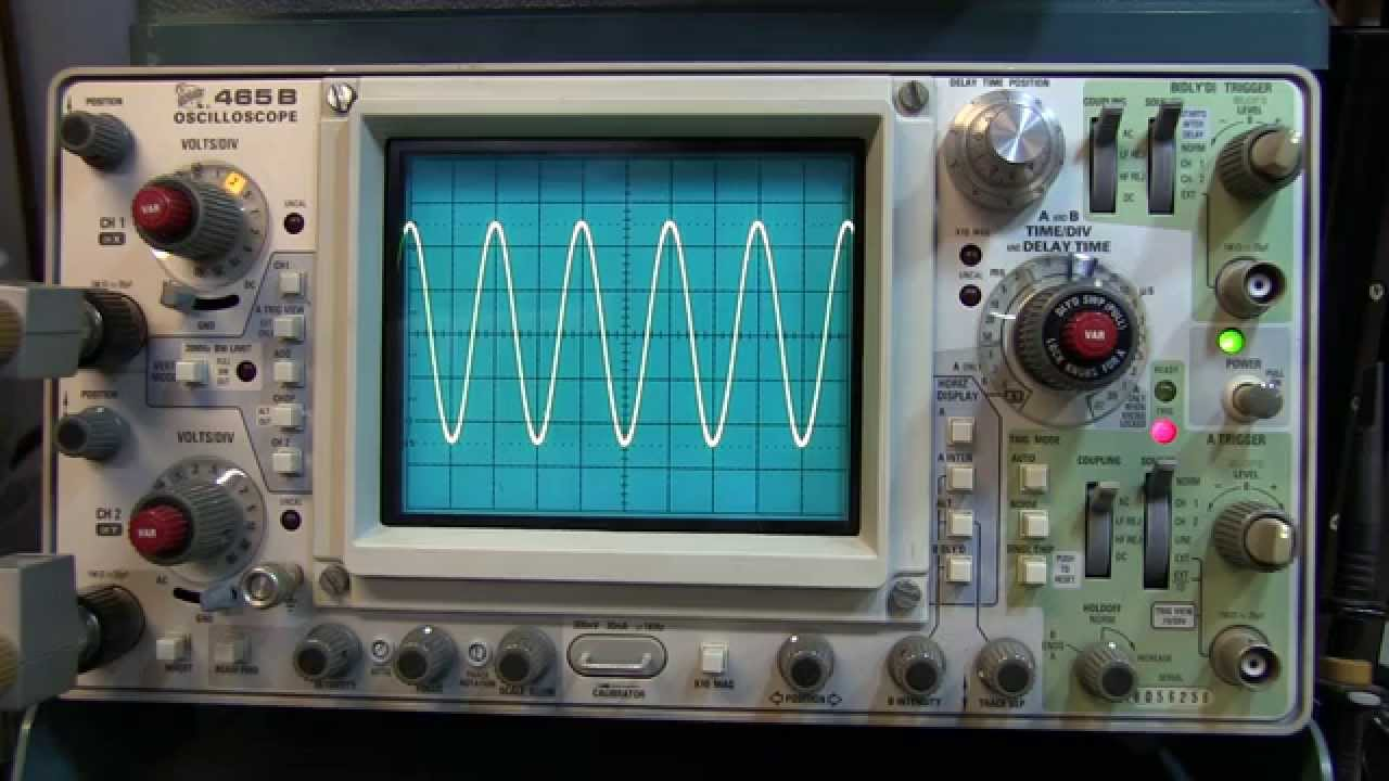 Building A Oscilloscope : How to make a peak voltage measurement on
