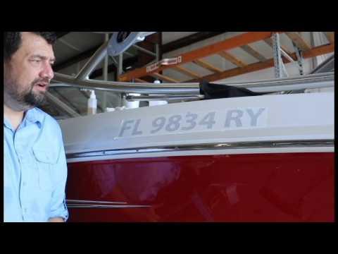 Applying Boat Registration Numbers