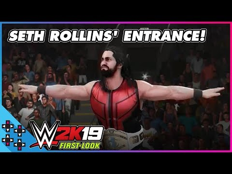WWE 2K19: SETH ROLLINS prepares to BURN IT DOWN!