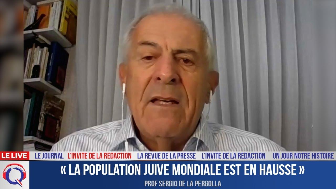 « La population juive mondiale est en hausse » - L'invité du 9 septembre 2021