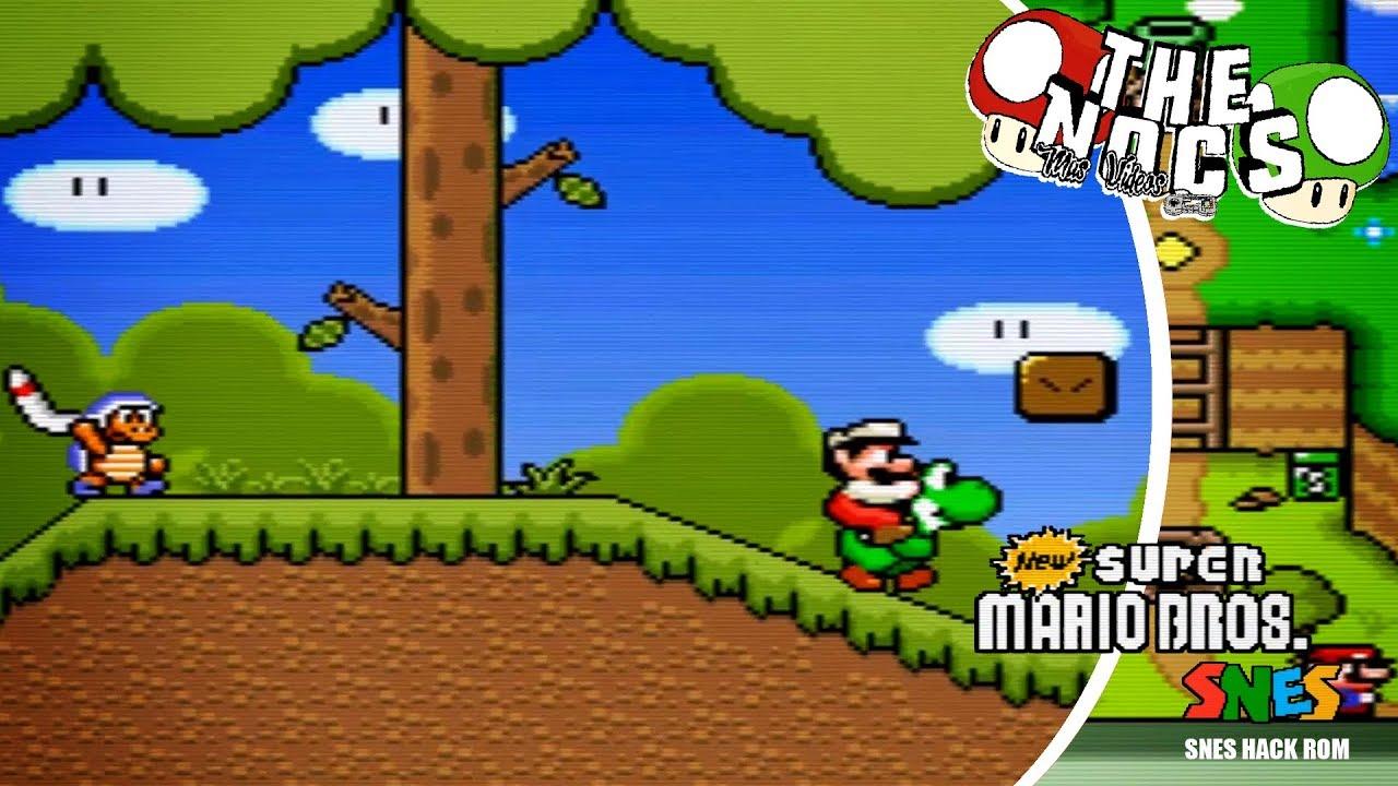 New Super Mario World Hack