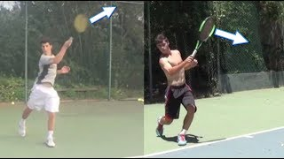 Amazing Forehand Progression with Analysis