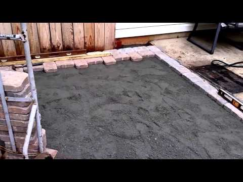 How To Install A Paver Patio DIY.
