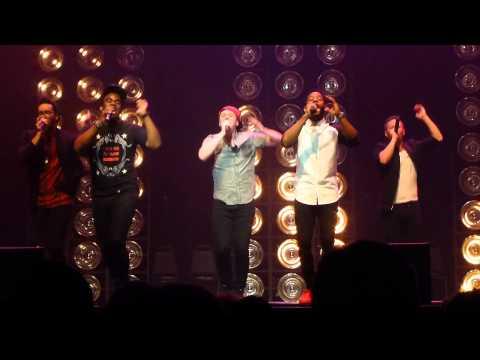 'Wavin' Flag' The Exchange on The Sing-Off Tour 2015 #singofftour