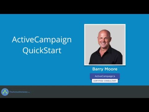 ActiveCampaign Training Course by Barry Moore from TheActiveMarketer.com