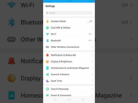 How to Enable Developer Options and USB Debugging on OPPO RealMe 1