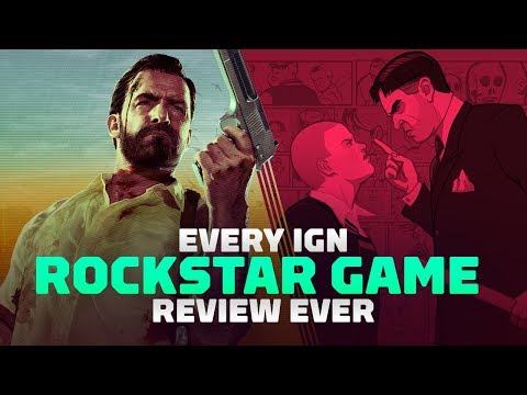 Every IGN Rockstar Game Review Ever