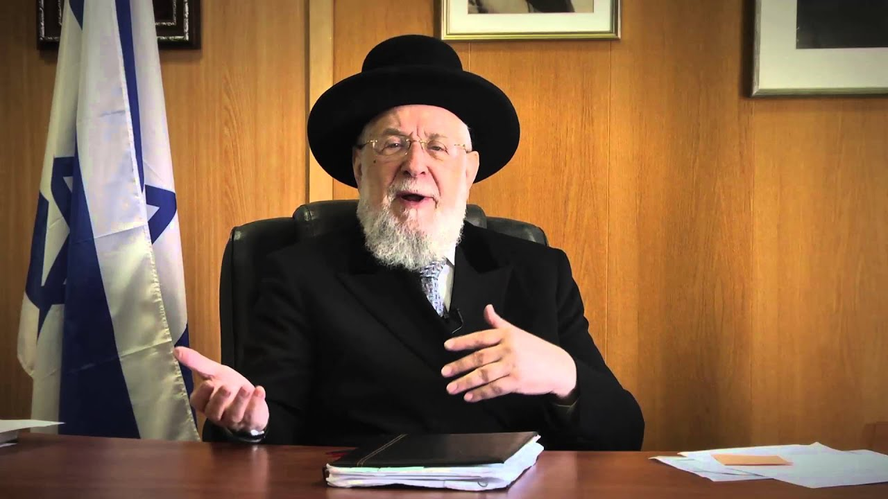 Weekly Torah Portion With Rabbi Lau - Vayigash