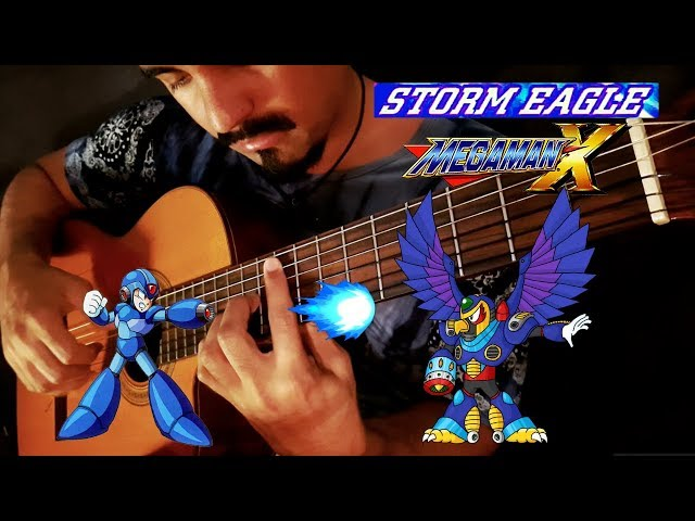 Storm Eagle from Mega Man X on Classical Guitar by Luciano Renan