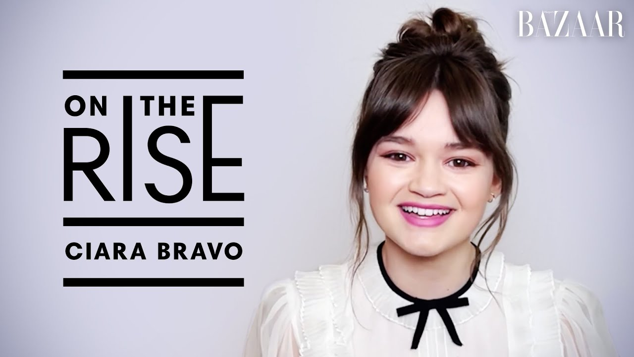 Ciara Bravo Talks 'Cherry' Role & Working with Tom Holland | On The Rise | Harper's BAZAAR