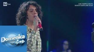 """Motta canta """"Dov'è l'Italia"""" - Domenica In 10/02/2019"""