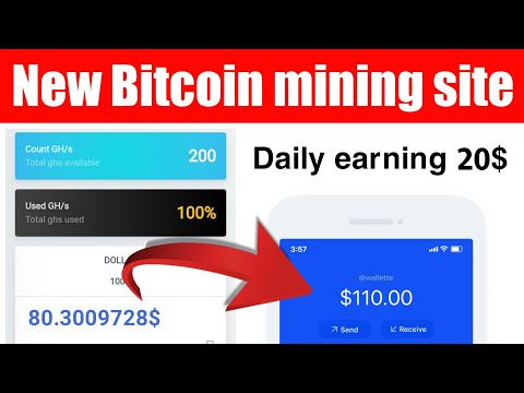 New high paying Bitcoin mining website – How to earn 1 Bitcoin free – Best mining website 2020