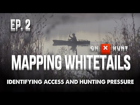 Part 2 - Mapping Public Land Whitetails | Identifying Access And Hunting Pressure