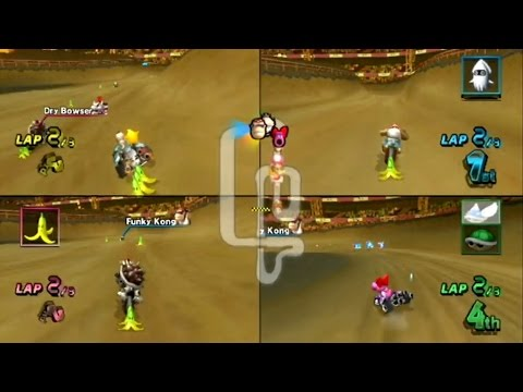 Mario Kart Wii - 4-Player VS:  24 - A Prodigy In The Making