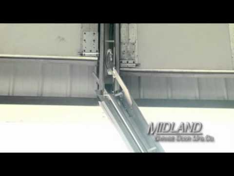 Midland Garage Door Swing Up Center Post System