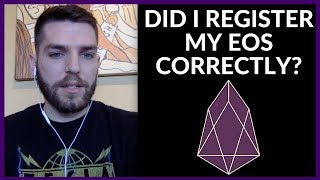 eosauthoritycom how to make sure your eos erc20 tokens are registered