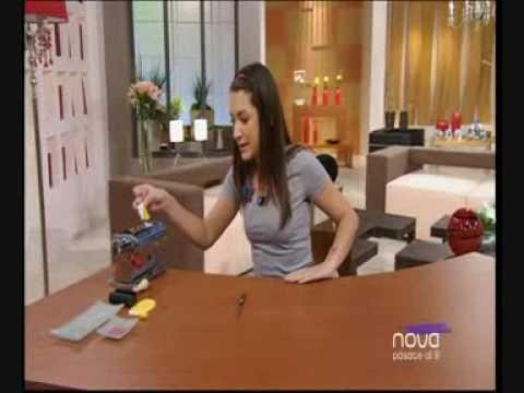 Silvia mijangos realiza un colgante de tirabuzones - Utilisima bien simple ...