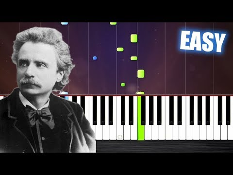 Edvard Grieg  In The Hall Of The Mountain King  EASY Piano Tutorial  PlutaX
