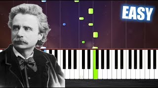 Edvard Grieg - In The Hall Of The Mountain King - EASY Piano Tutorial by PlutaX - Stafaband