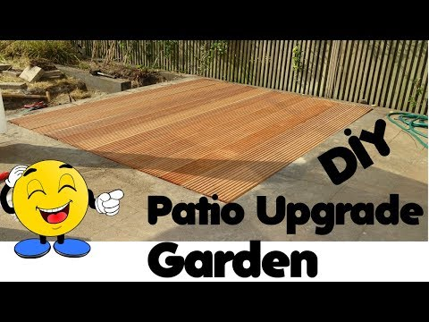 DIY Patio Upgrade
