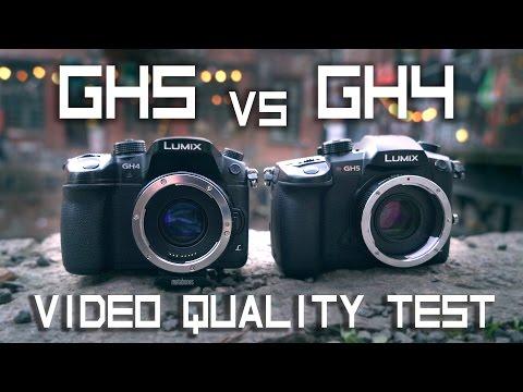 Panasonic GH5 vs GH4 w/Speedbooster & Sigma 18-35mm