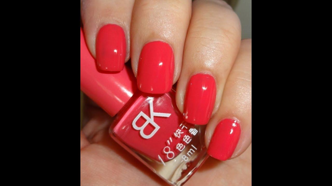 Nail Colors Youtube: Born Pretty Store BK Sweet Candy Fast Dry Nail Polish #13