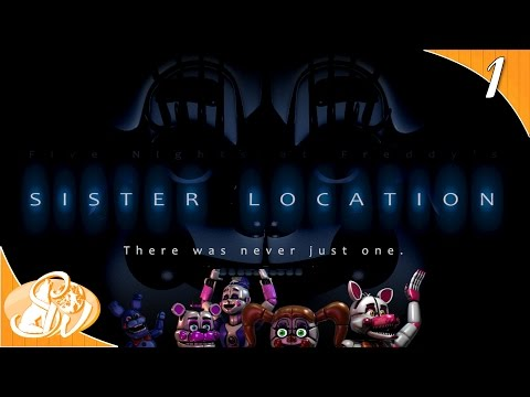 not-in-here-|-fnaf-sister-location-funny-moments-|-dual-play