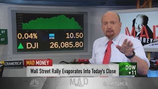 Jim Cramer's earnings preview: If the banks get hammered, things could get ugly.