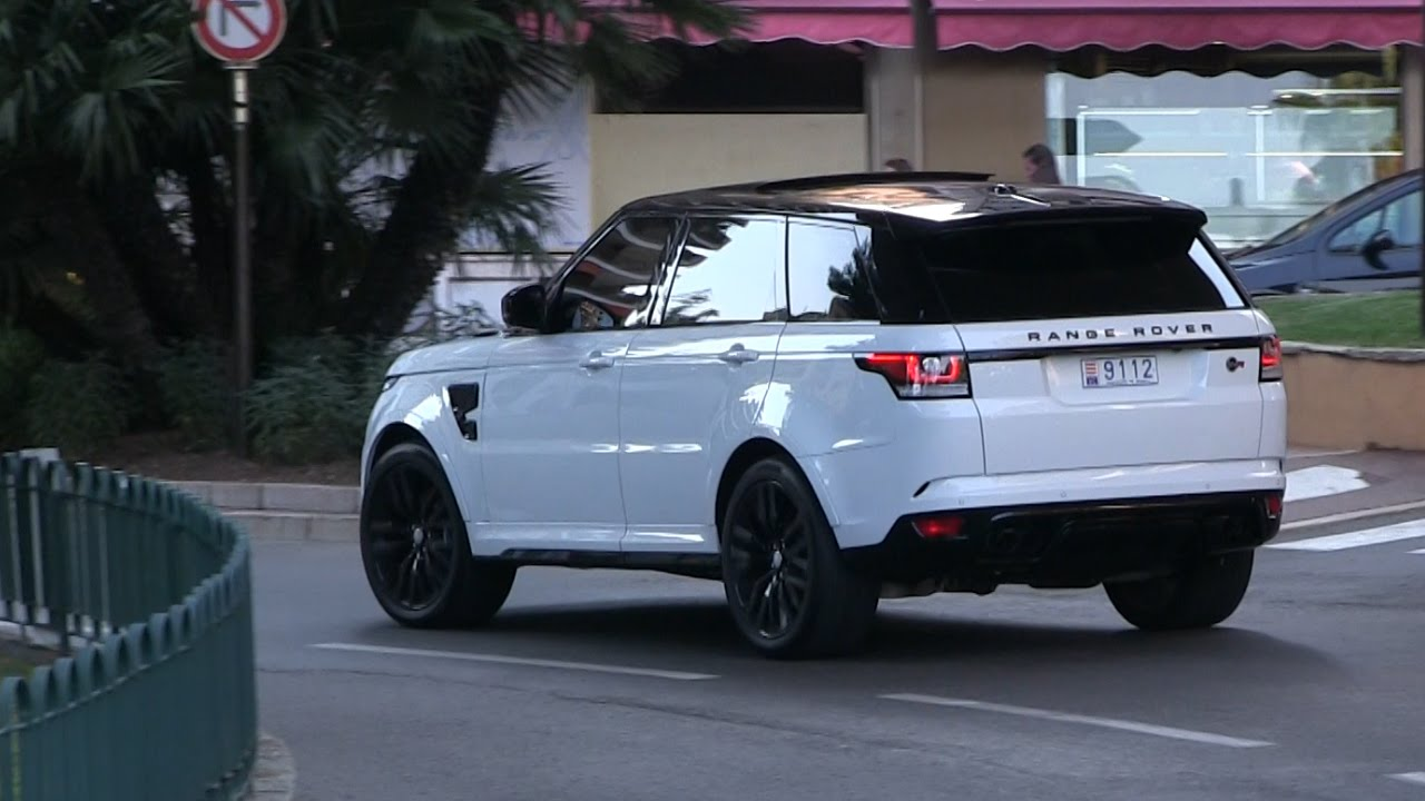 2016 Range Rover Sport Svr The Ultimate 550hp Golddigger Car In Monaco You