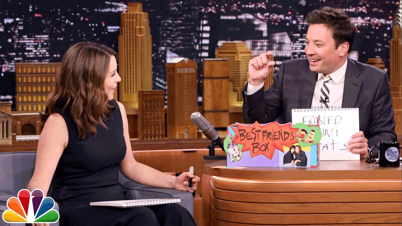 Best Friends Challenge with Tina Fey (Extended Version) – YouTube