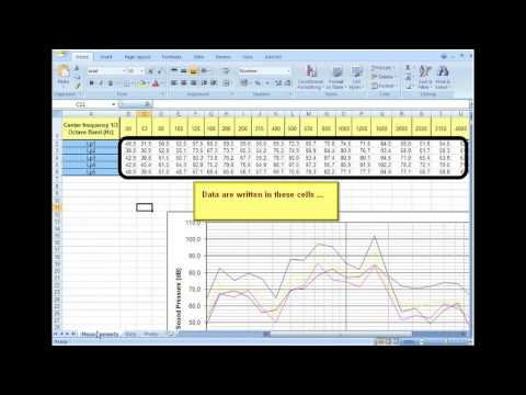 Excel macro for 3D sound mapping