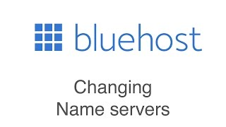 How to change your name servers at Bluehost