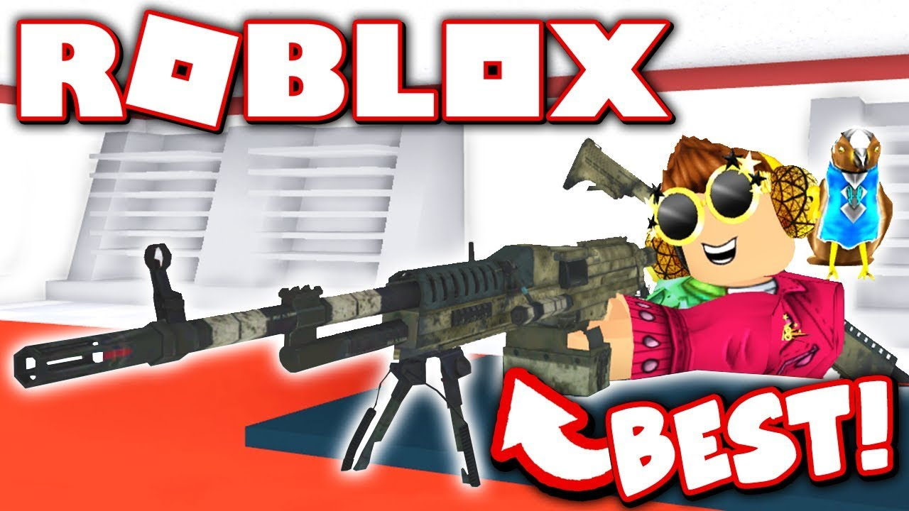 BUYING THE BEST WEAPON IN ZOMBIE ATTACK!! (Roblox)