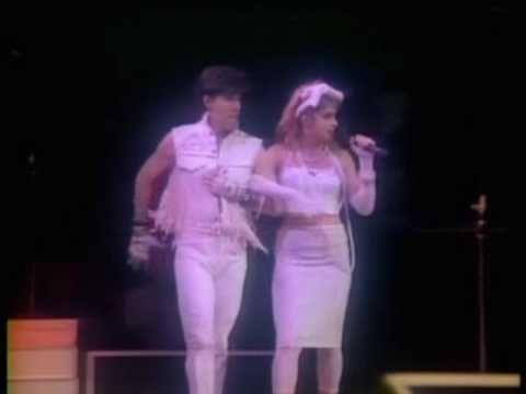 Madonna  Material Girl Virgin Tour